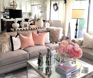 home decor, interior, and living room image