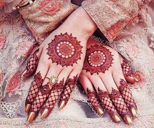 henna, mehndi, and beautiful mehndi designs image