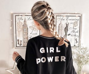 hair and girl power image