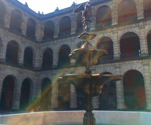 artsy, fountain, and Mexico City image