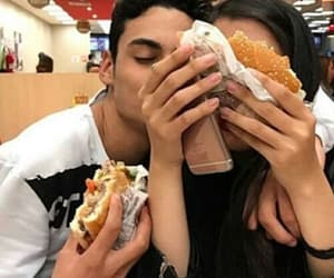 couple, food, and goals image
