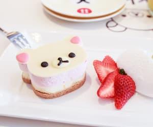 food, cake, and rilakkuma image