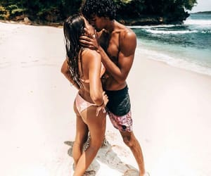 beach, goals, and kiss image