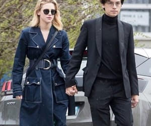 cole sprouse, lili reinhart, and couple image