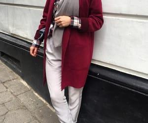 hijabista, fashion, and hijab image