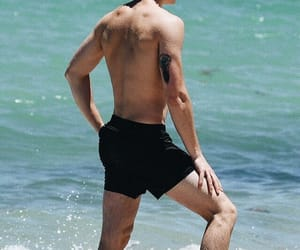 shawn mendes, boy, and beach image