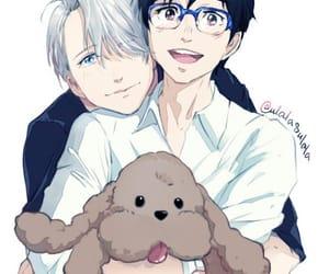 anime, fanart, and love image
