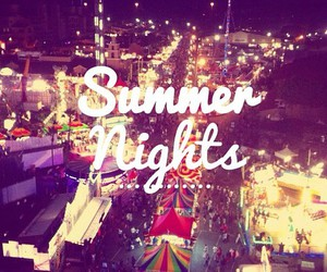 fair, lights, and typography image