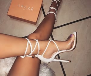 beauty, glam, and shoes image