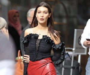 bella hadid, fashion, and style image