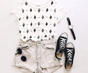 converse, cool, and outfit image