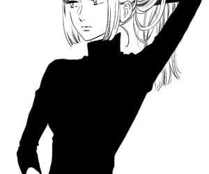manga, shoujo, and black and white image