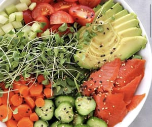 avocado, carrot, and healthy image