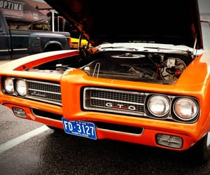 muscle cars, orange, and pontiac image