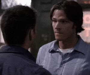 dean winchester, gif, and jared padalecki image