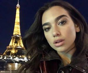 dua lipa, singer, and paris image