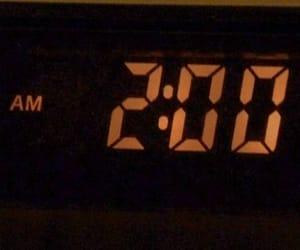 2am, clock, and digital clock image