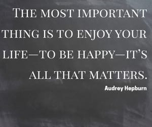 life, quotes, and be happy image