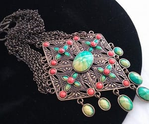 etsy, statement necklace, and bib necklace image