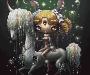 artist, painting, and pop surrealism image