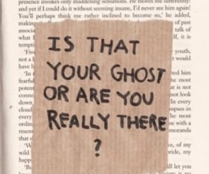 ghost, book, and quotes image