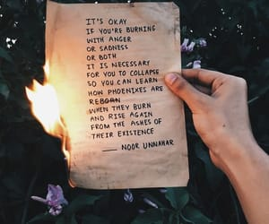 quotes, tumblr, and fire image