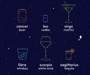 alcohol, drinks, and Leo image