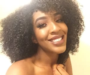 black, curly, and wash and go image