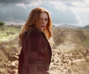 Avengers, Marvel, and elizabeth olsen image