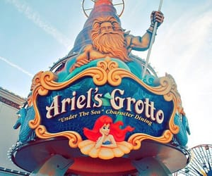 ariel, disneyland, and ariel's grotto image