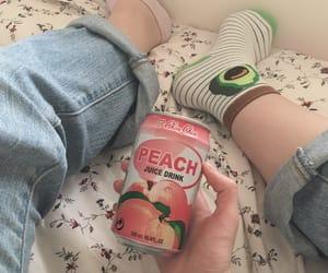 avocado and peach image