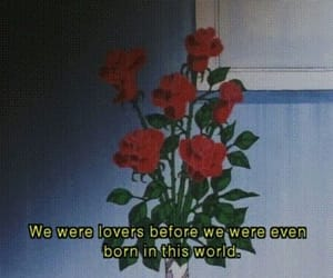 rose, quotes, and grunge image