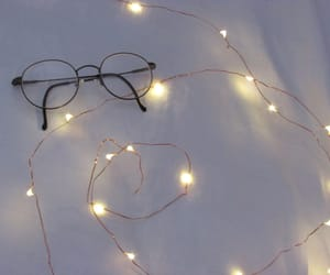 aesthetics, glasses, and lights image