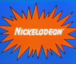 nickelodeon, 90s, and childhood image