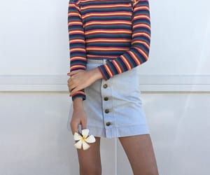 80s, fashion, and flowers image