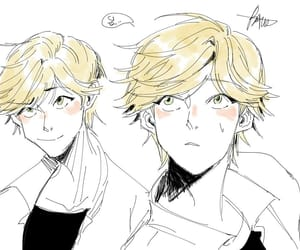 Chat Noir, adrien agreste, and miraculous image