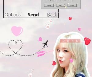 taeyeon, kpop background, and kpop edits image