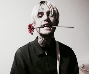 lil peep, rip, and rose image