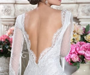 beauty, bridal, and elegance image