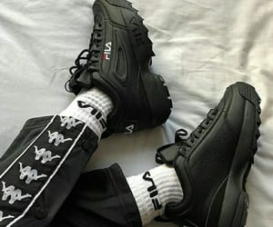 fashion, Fila, and shoes image