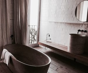 theme, bathroom, and bathtub image