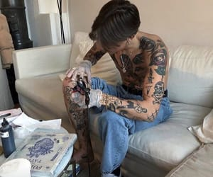 tattoo and boy image