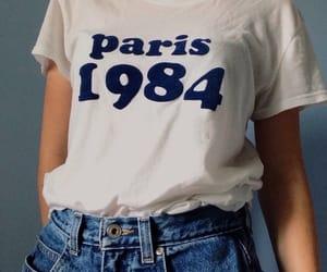 paris, vintage, and 1984 image