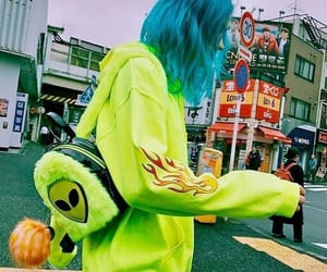 style, alien, and green image