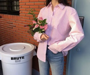 bouquet, clothes, and fashion image