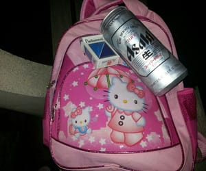 hello kitty, cigarettes, and cute image