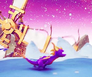gif, gifs, and spyro the dragon image