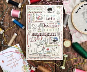 bibliophile, little women, and booklover image