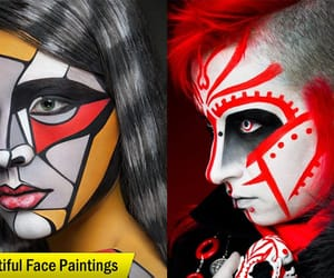 art, others, and body paintings image