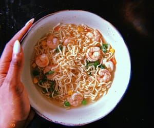 food, noodles, and trending image